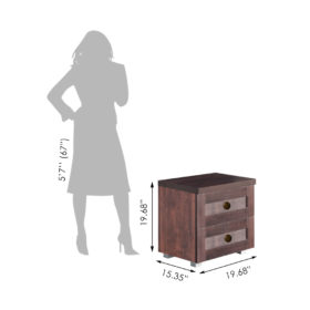 Gaja Furniture_Bed Side Table_EBS-706-CM_inches