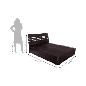 Gaja_Engineered Wood_Bed _Alfred-GA-AQB-600-WE_size inches