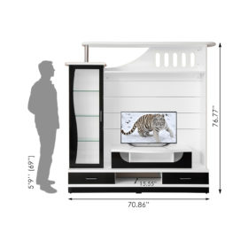 Gaja_Plasma TV Wall Unit_Avocado-GA-AWU-M13-BW_2