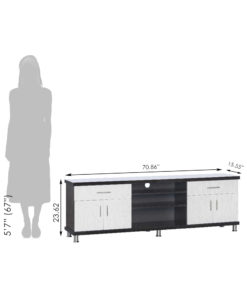 Gaja_TV Unit-Cabinet_Olive_GA-OTV-M20-WE_Size Reference