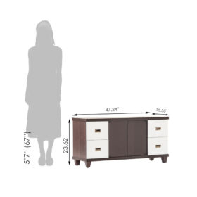 Gaja_TV Unit-Cabinet_Tulip_GA-BTV-M17-WE_GA-BTV-M17-WE_Size Reference