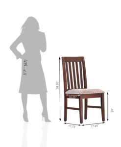 Kalinga Furniture Solid Wood Dining Chair – CH-412_5
