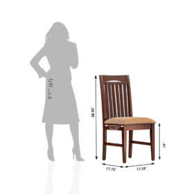 Kalinga Furniture Solid Wood Dining Chair – CH-414_5